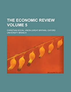 The Economic Review (V. 5)