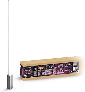 Philips Hue White & Color Ambiance Lampadaire Signe Compatible Bluetooth 32 W, Fonctionne avec Alexa