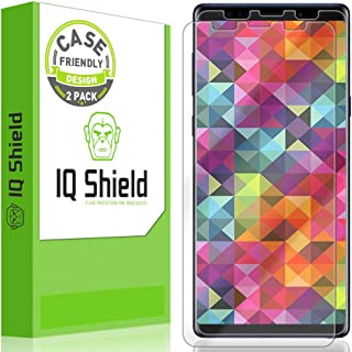 [2-Pack] IQ Shield LiQuidSkin Clear [Case Friendly] Screen Protector for Samsung Galaxy Note 9 Anti-Bubble Film