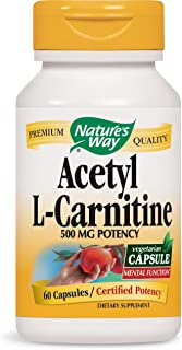 Nature's Way Acetyl L-Carnitine, 60 Vcaps