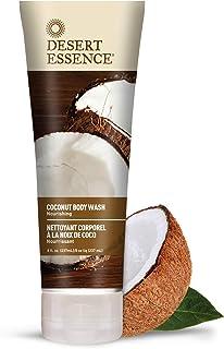 Desert Essence Coconut Body Wash - 8 Fl Ounce - Pack of 2 - Nourishing Coconut Oil - Jojoba Oil - Skin Cleanser - Hydratin...