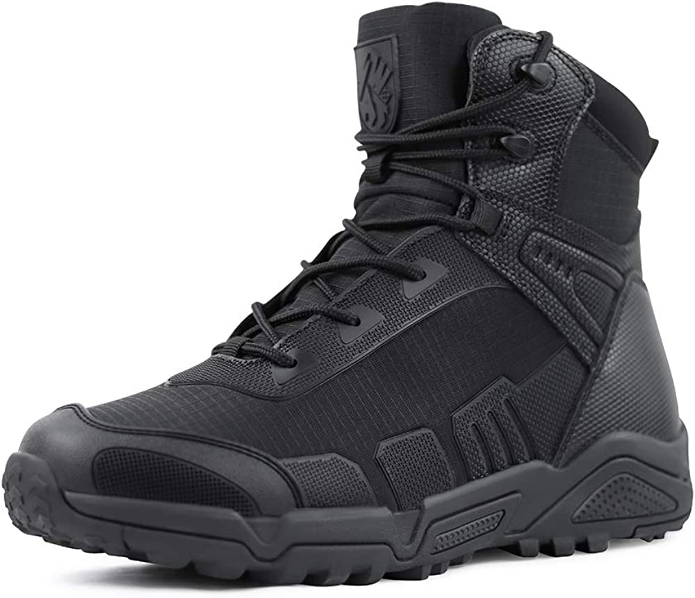 Overseas parallel import regular item QUNLON Men's Ankle Waterproof T Wear-resistant Popular product Military Non-Slip