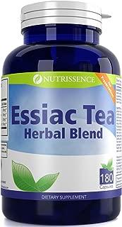 Essiac Tea Herbal Blend 180 Capsules – Nutrissence