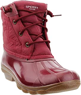 Womens Syren Gulf Casual Boots, Red, 7.5
