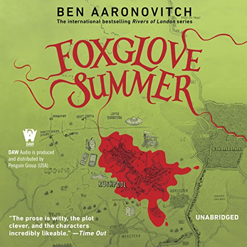 Foxglove Summer audiobook cover art