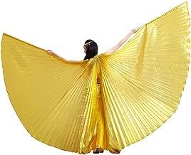 Pilot-Trade Women's Egyptian Egypt Belly Dance Costume Bifurcate ISIS Wings