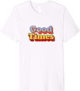 Good Times T-Shirt Nostalgic 70s Style Shirt