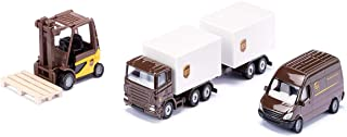 SIKU 6324 UPS Logistik Set Camiones, Color Puede Variar de la Figura