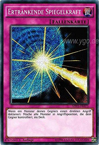 SHVI-DE075 Ertränkende Spiegelkraft 1. Auflage im Set mit original Gwindi Kartenschutzhülle