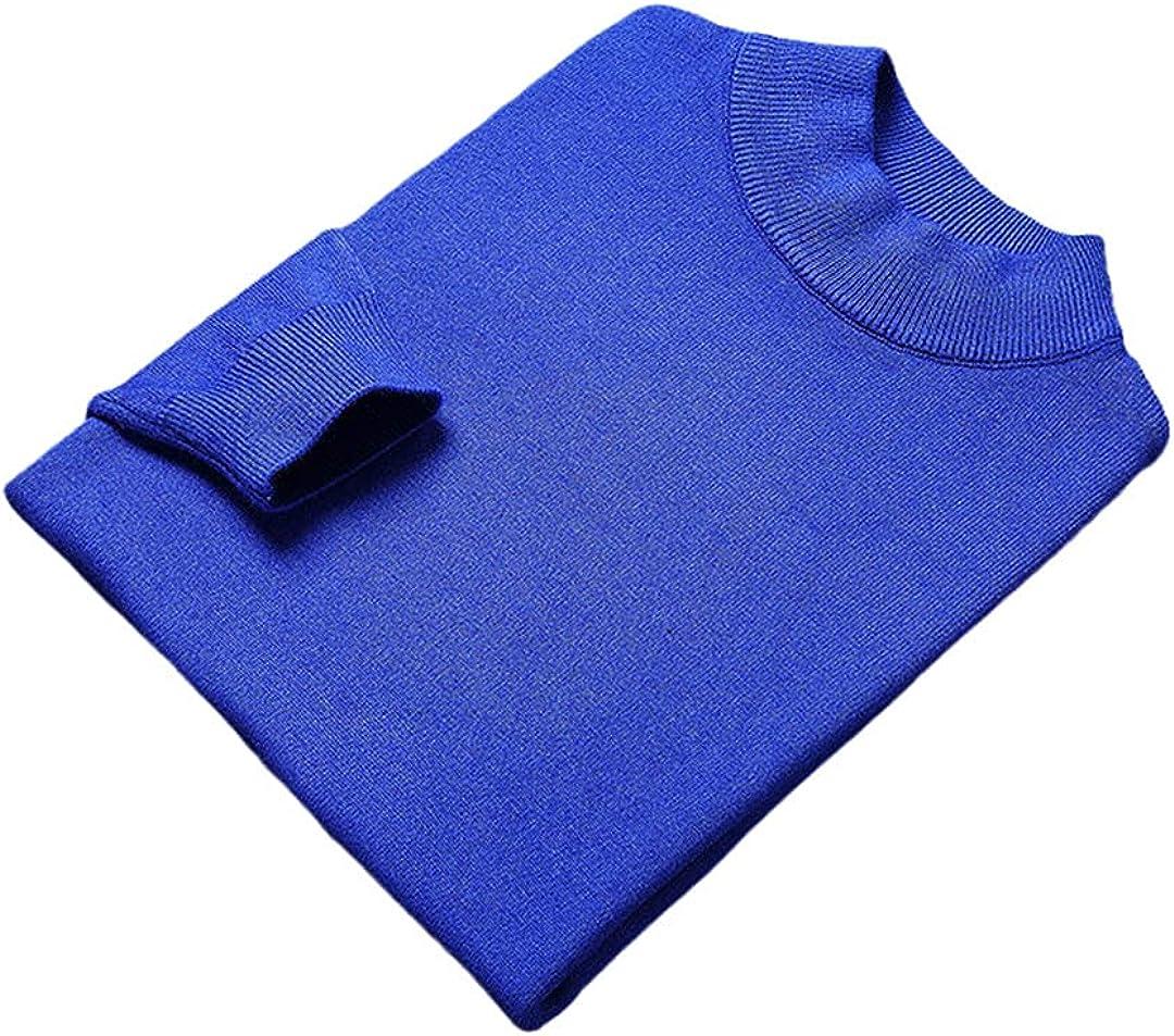 EGFIOKMJHT Knitted Pullover Sweater Men Autum Winter Woolen Casual Jumper Clothes Men