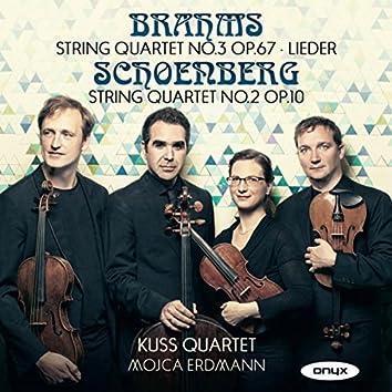 Brahms: String Quartet No. 3, Lieder & Schoenberg: String Quartet No. 2