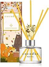 Cocodor Chipmunk Diffuser (Seasonal Edition) / Black Cherry / 4.05oz(120ml) / Reed Oil Diffuser, Room Fragrance, Home & Of...