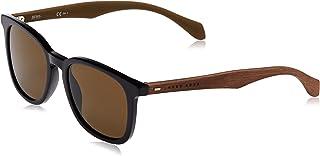 Hugo Boss Unisex Sunglasses, Black Brown, 0843/S EC 52