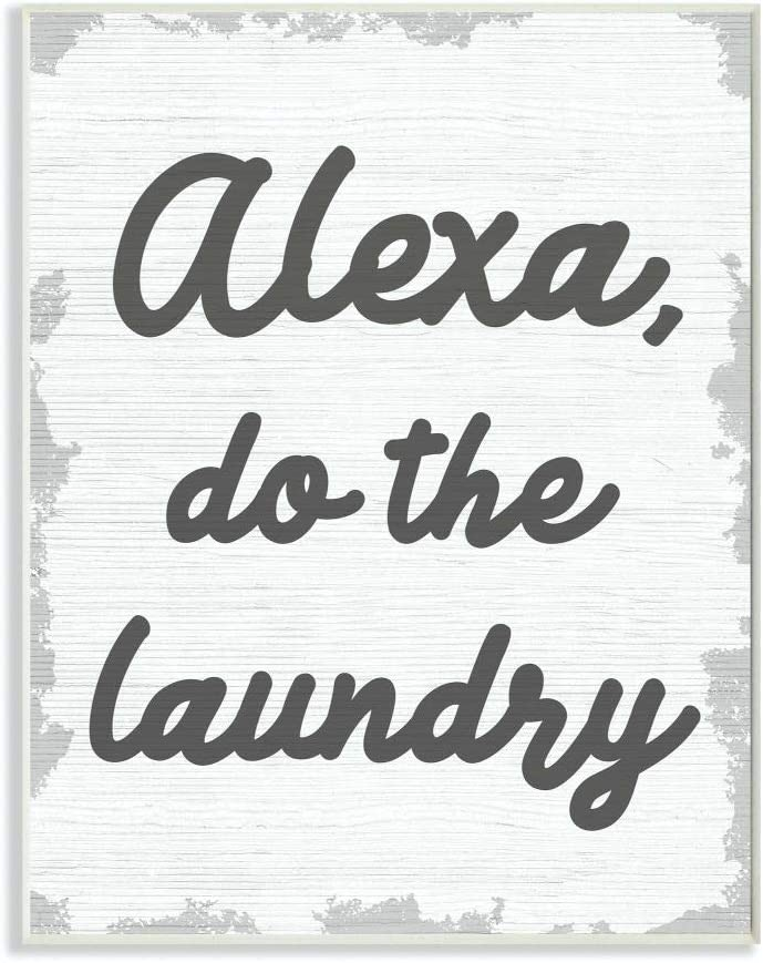 Ranking TOP12 Stupell Industries Alexa Do The Laundry Animer and price revision Bathroom Funny Word Grey