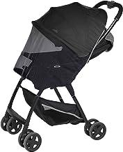Sekey Moskitonetz für Kinderwagen, universal Insektenschutz, Schutz vor Moskito, Reisebett Babywagen Mückennetz, Schwarz.