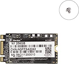 Zheino M.2 2242 256GB SSD NGFF SATA III 6gb/s Internal 3D Nand Solid State Drive for Ultrabooks and Tablets