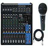 Includes a Dynamic Microphone and Cable! Outstanding microphone preamps Switchable Phantom Power & PAD Switch 1-knob Compressors EQ and High-pass Filters