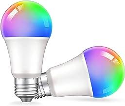 Zigbee Smart Light Bulbs,Seedan E26 RGB Color Changing Light Bulb 9W,800LM,Smart Bulb Works with Alexa Amazon Echo Plus Ec...