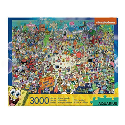 Nickelodeon Spongebob Squarepants 3000 Piece Jigsaw Puzzle
