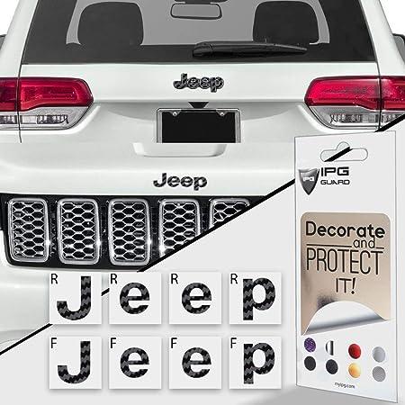 Set Car Chrome Emblem Side Decoration Trim Sticker Hood Ingresso Stickers Accessori BENGKUI Misura for Jeep Compass 2017-2020 2Pcs Color Name : Black