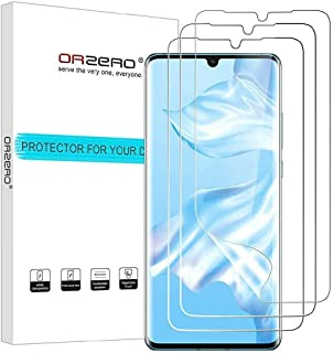 Huawei P30 Pro, Screen Protector Premium Quality Edge to Edge Case Friendly, High Definition Anti-Scratch Bubble-Free, 3 p...