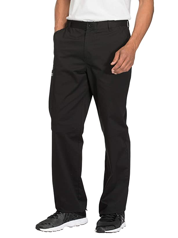 Cherokee Workwear Core Stretch Men's Fly Front Scrub Pant