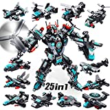VATOS STEM Robot Building Toys, 577 PCS Construction Toys 25-in-1 STEM Toys for 6 Year Old Boys...