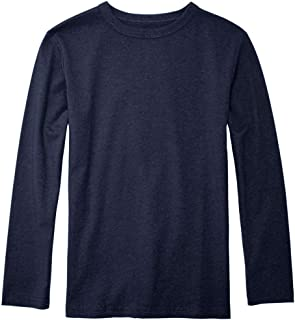The Children's Place Big Boys' Long Sleeve Basic Tee
