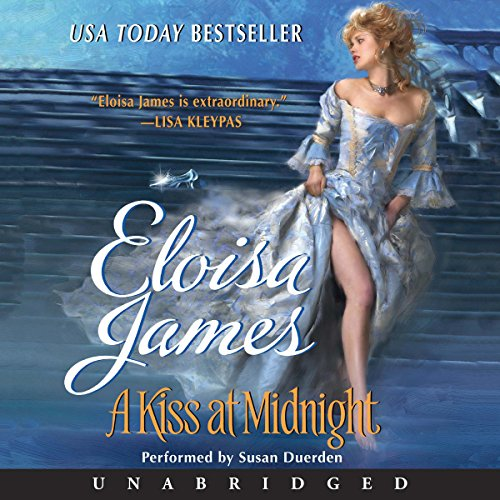 A Kiss at Midnight                   De :                                                                                                                                 Eloisa James                               Lu par :                                                                                                                                 Susan Duerden                      Durée : 10 h et 36 min     Pas de notations     Global 0,0