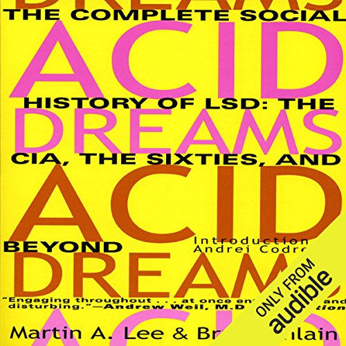 Acid Dreams audiobook cover art