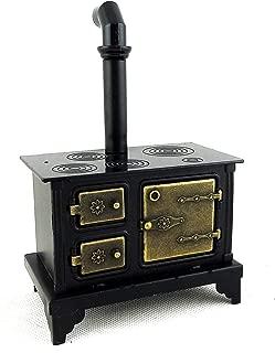 Aztec Imports, Inc. Dollhouse Miniature Antique Cast Iron Stove