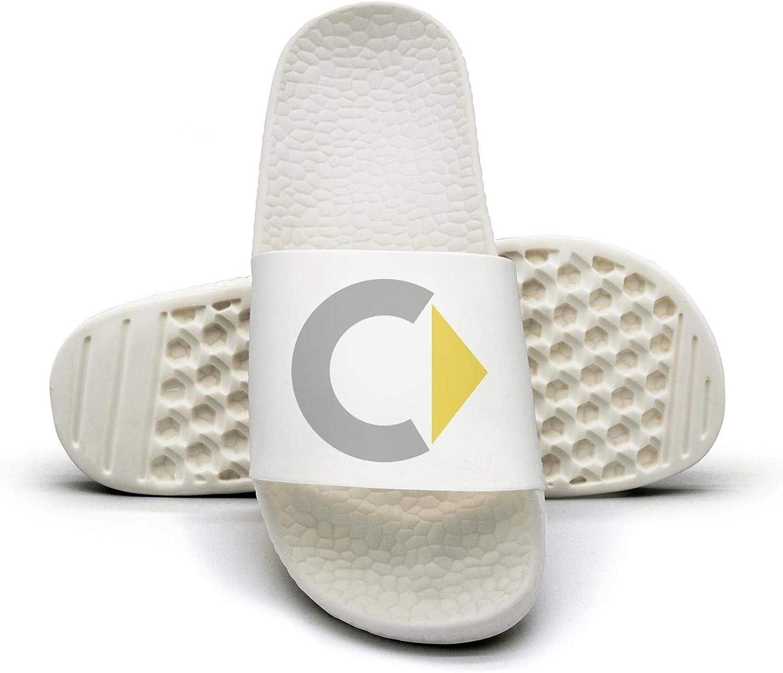 EIGKASL Printed Non-Slip Slippers Slides flip Flop Sandals Smart-Symbol-Logo-Emblem-Summer Comfortable for Womens