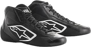 Alpinestars 2711518-12B-8.5 Tech 1-K Start Shoes, Black/White, Size 8.5