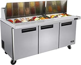commercial sandwich salad preparation refrigerators