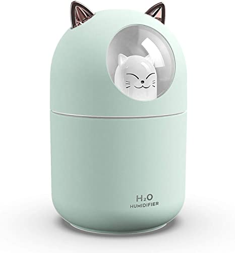 Amazon Com Small Humidifiers For Bedroom Humidifiers For Baby Ultrasonic Cool Mist Humidifier For Small Rooms Portable Humidifying Unit Ideal For Office With High And Low Mist Settings Kitchen Dining