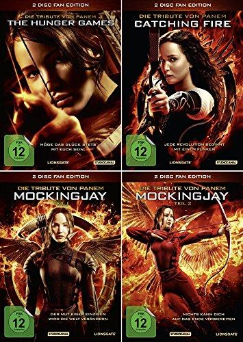 Die Tribute von Panem 1 + 2 + 3 | Hunger Games | Catching Fire | Mockingjay 1 + 2 | [Alle 4 Filme Fan Edition]