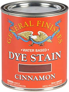 General Finishes DQC Water Based Dye, 1 Quart, Cinnamon