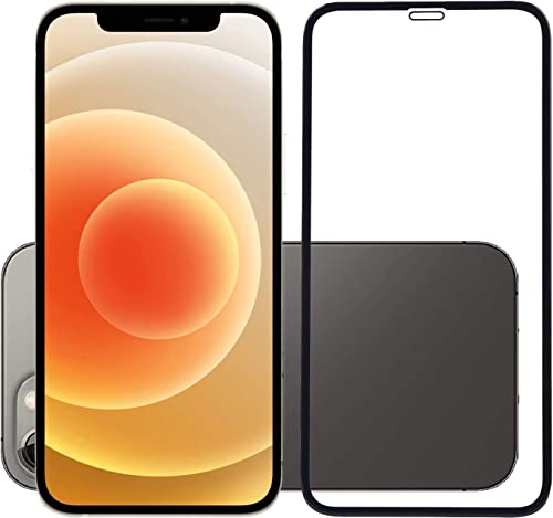 Temperia Tempered Glass Screen Guard For Apple Iphone 12 Apple Iphone 12 Pro Black Edge To Edge Full Screen Coverage With Easy Installation Kit Pack Of 1