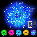 Obrecis Color Changing String Lights, 200 LED Colorful Christmas Lights Multicolor Plug in Waterproof Twinkle Tree Lights Connectable for Indoor Outdoor Room Party Wedding Xmas Decor-66ft(RGB)