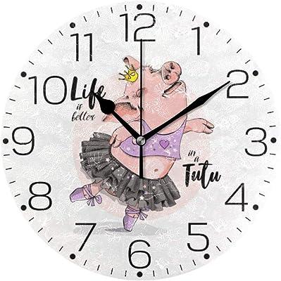 WALPLUS - Reloj de Pared para Ventana, diseño de Cuco, Color ...