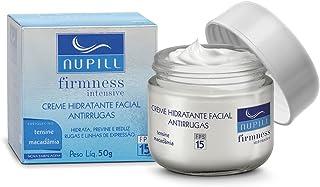 Creme Hidratante Antirrugas Tensine FPS 15 Nupill 50g, Nupill, Azul