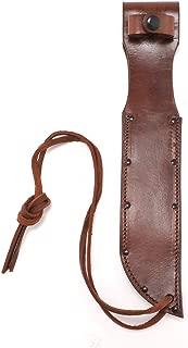 World War Two Style Brown Leather Sheath for US Navy Mark 2 MK 2 or Ka-Bar Knife