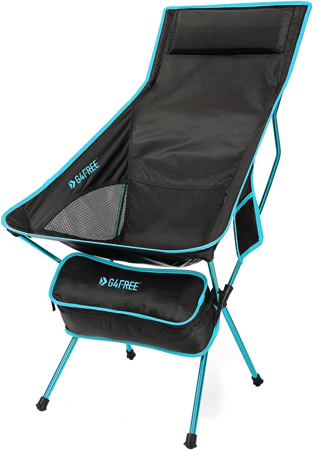 G4Free 2021 model Lightweight Portable High Back Bac Chair Folding Camping Free shipping on posting reviews