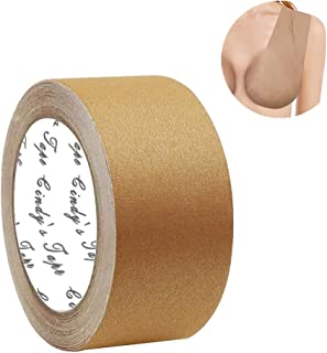 New Breast Lift Tape Nude Diy Breast Job for A-DD and E Cup Big Size,Chest supports tape,push up tape, Body Tape,Bra Tape,Foot Tape,Medical Grade and Waterproof. Kim K's Trick. Better than Gaffer tape