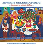 Jewish Celebrations: Malcah Zeldis 2020 Wall Calendar
