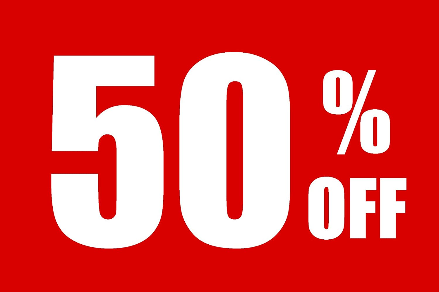 50% Off Business Store trend rank Counter Sign Washington Mall Retail