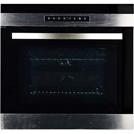Generic Kraft Italy 56 L Fully Automatic Touch Screen Built-in Oven (Black)