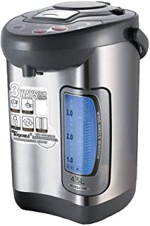 Toyomi EPA 458SS Stainless Steel Electric Pump Airpot, 4.5L