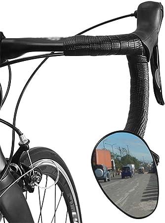 Liuxiaomiao Espejos Retrovisores de Bicicleta Espejo retrovisor del Manillar de la Bicicleta Unisex RoadLeft Derecho Universal Seguro MTB Espejo retrovisor para Montaña La Carretera Bicicleta: Amazon.es: Hogar