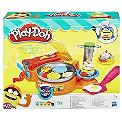play doh breakfast set pretend play toy